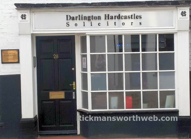 Darlington Hardcastles Solicitors Rickmansworth June 2013