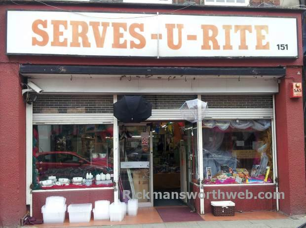 Serves U Rite Rickmansworth June 2013