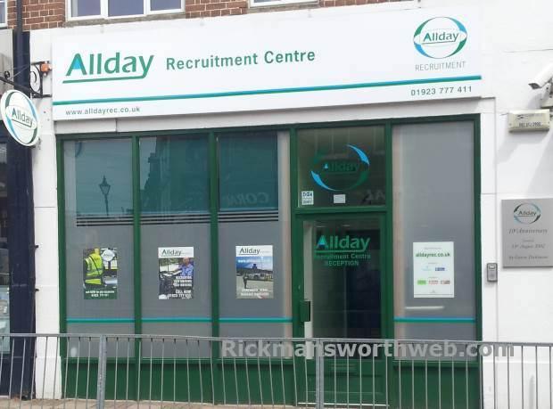 A picture of Allday Recruitment Centre Rickmansworth - taken June 2013