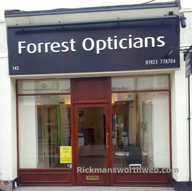 Forrest Opticians Rickmansworth June 2013