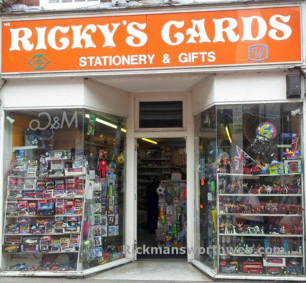 Ricky's Cards Rickmansworth June 2013