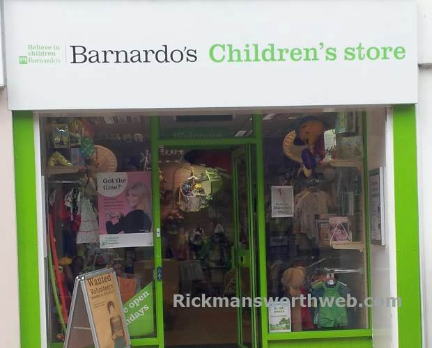 Barnardo's Childrens Store Rickmansworth June 2013