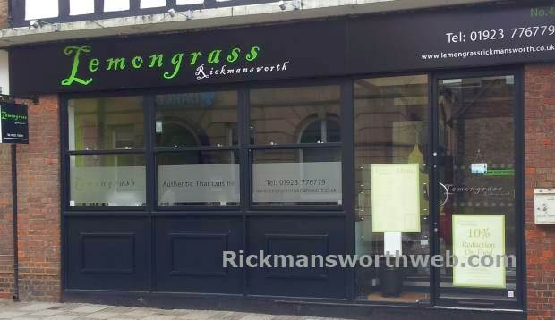 Lemongass Thai Restaurant Rickmansworth June 2013