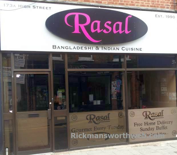 Rasal Indian Restaurant Rickmansworth June 2013