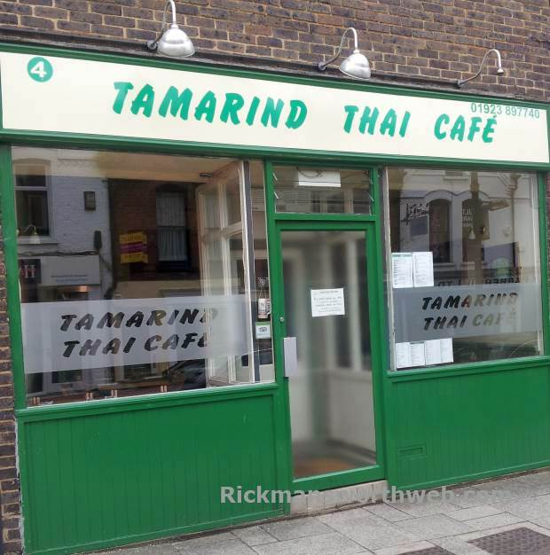 Tamarind Thai Cafe Rickmansworth June 2013