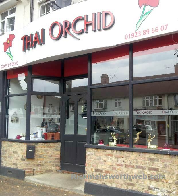 Thai Orchid Rickmansworth June 2013