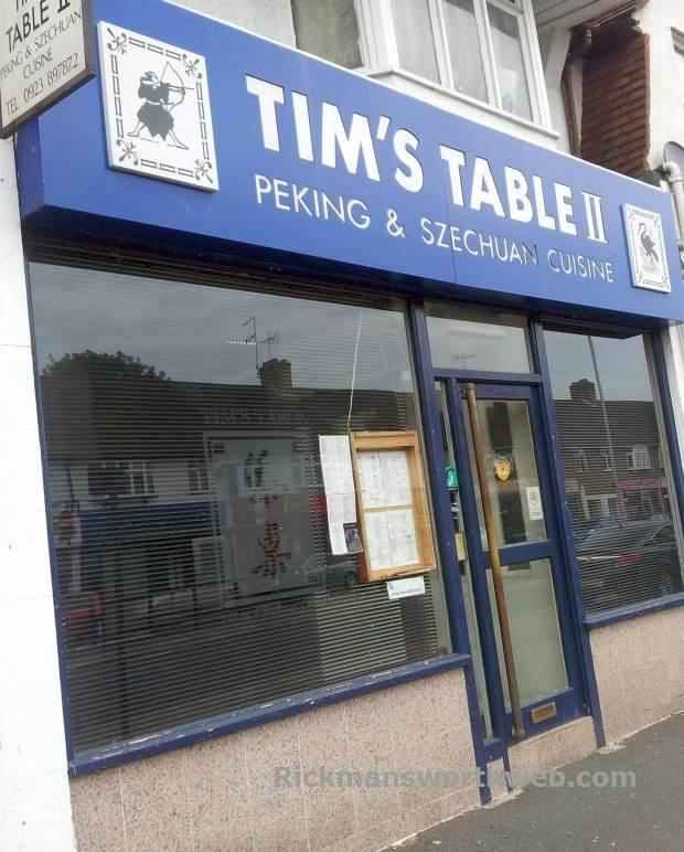 Tim's Table II Rickmansworth June 2013