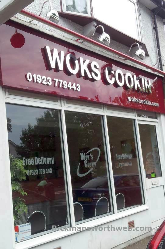 Woks Cookin Rickmansworth June 2013