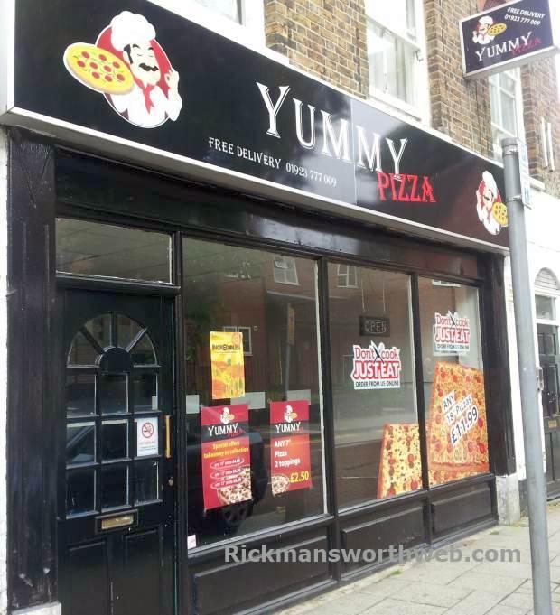Yummy Pizza Rickmansworth June 2013