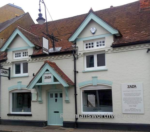 ZAZA Italian Restaurant Rickmansworth June 2013