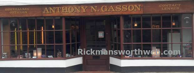 A picture of Anthony Gasson Opticians Rickmansworth - Taken June 2013