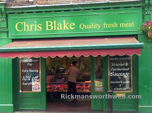 Chris Blake Butchers Rickmansworth June 2013