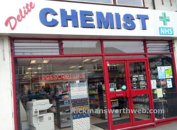 Delite Chemist Rickmansworth June 2013
