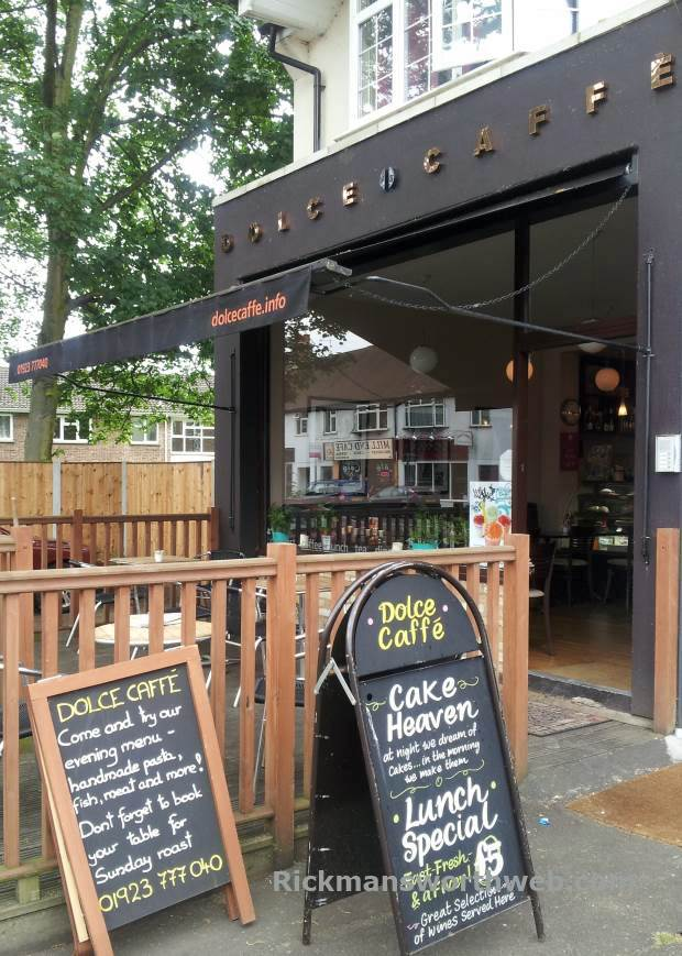 Dolce Caffe Rickmansworth June 2013