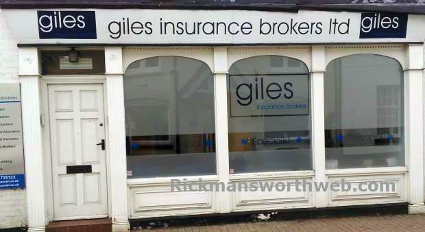 Giles Insurance Brokers Rickmansworth June 2013