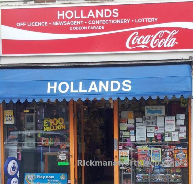 Hollands Off Licence June 2013