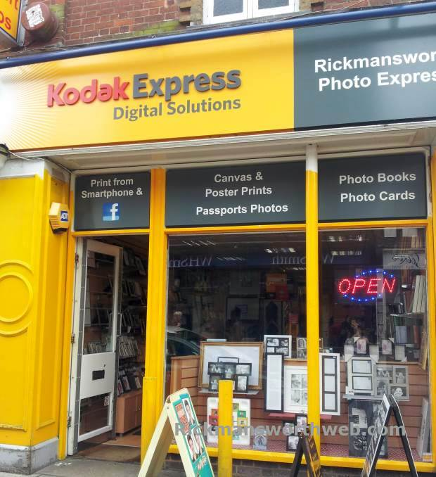 Kodak Express Rickmansworth June 2013