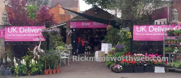 Love Flowers Rickmansworth June 2013