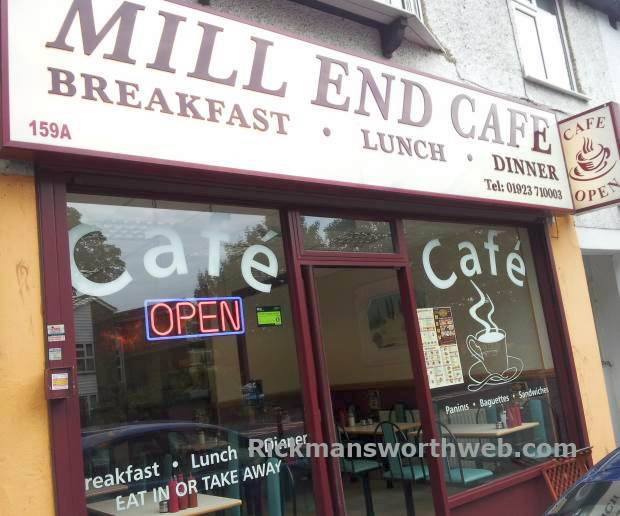 Mill End Café Rickmansworth June 2013