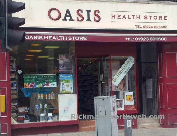 Oasis Health Rickmansworth June 2013