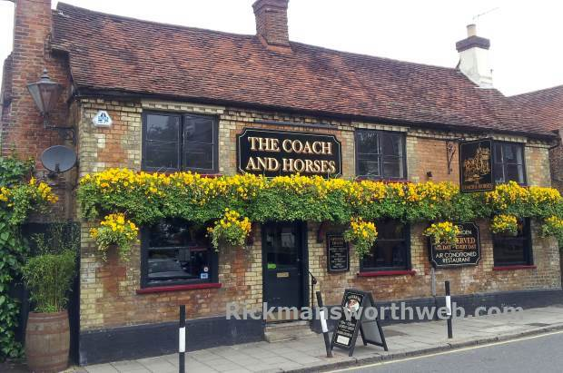 The Coach and Horses pub Rickmansworth June 2013