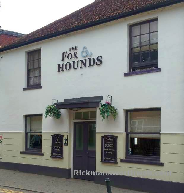 The Fox and Hounds Rickmansworth June 2013