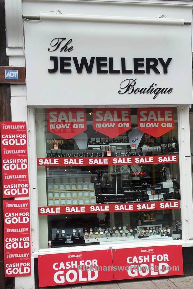 The Jewellery Boutique Rickmansworth June 2013