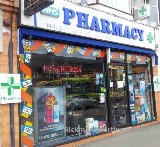 V Dave Pharmacy Rickmansworth June 2013