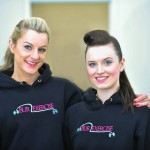 The owners of Burlexercise, Katie and Sarah